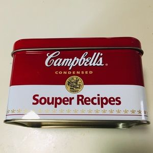 Vintage Campbell's Soup Recipe Tin